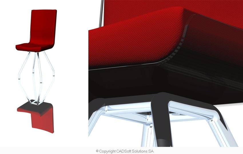 Stuhl - Detail