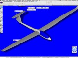 Modell-Segelflugzeug : ScreenShot