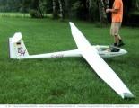 Modell-Segelflugzeug : Foto