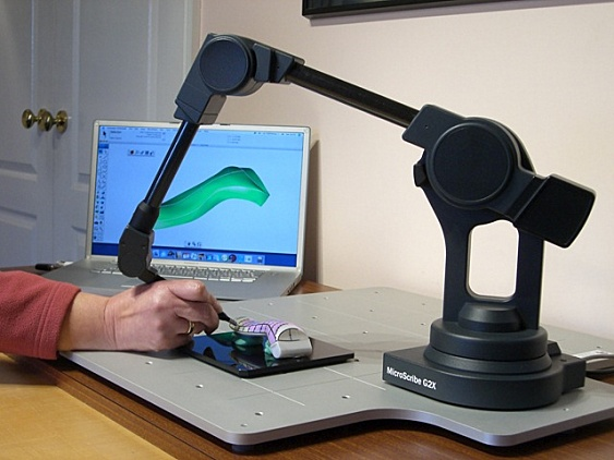 Support f. MicroScribe 3D-Scanner
