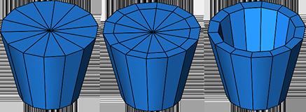 Polygonschleifen einfügen
