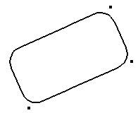 Rechteck-Werkzeug mit Abrundung