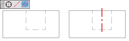 Mittellinien-Werkzeug