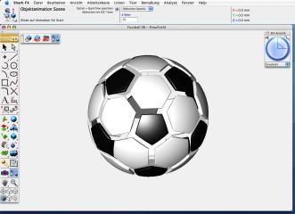 Shark : Benutzer-Oberfläche Mac OS
