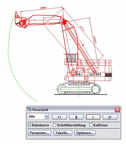 DraftBoard : Kinematik-Modul