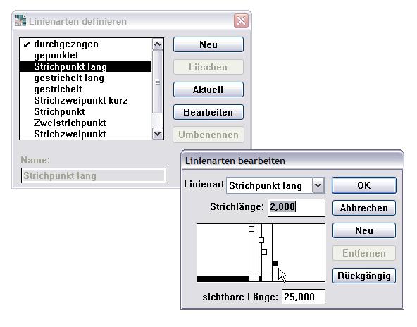 DraftBoard : Linien-Editor