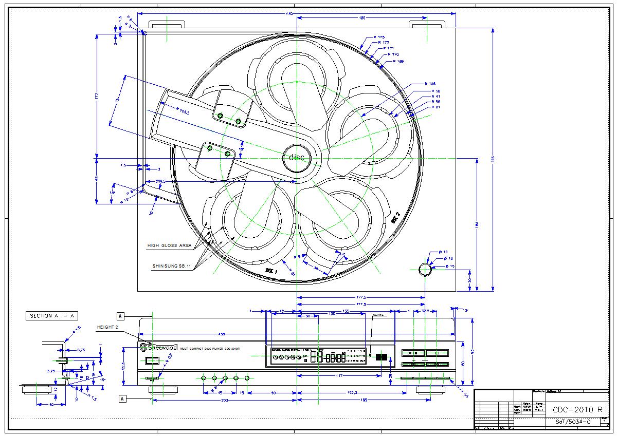 DraftBoard Beispiel-Zeichnung : Design