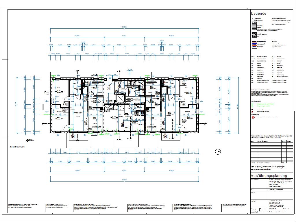 DraftBoard Beispiel-Zeichnung : Architektur
