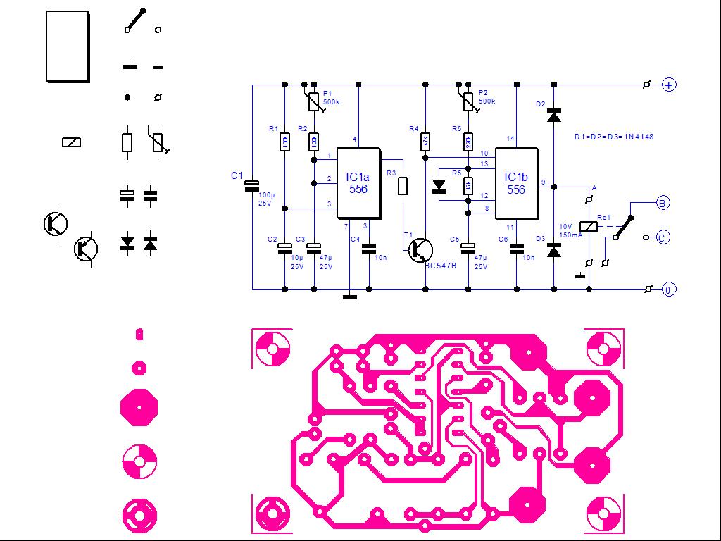 DraftBoard Beispiel-Zeichnung : Elektronik