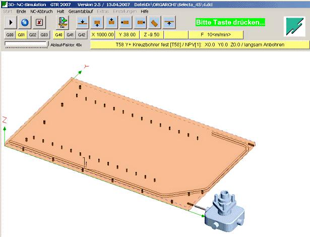 I-CAD 3D-NC-Simulation